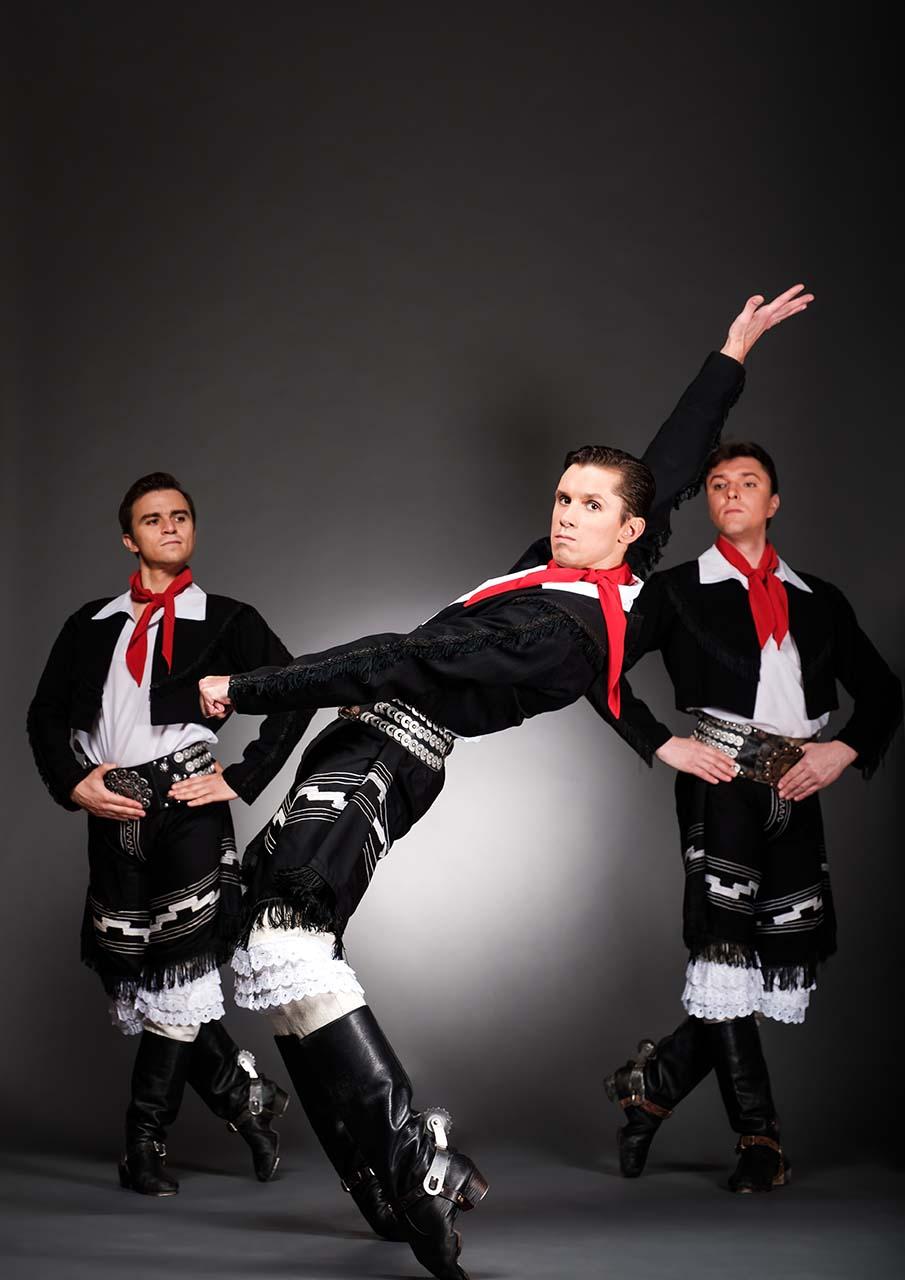 Gaucho escena del espectáculo Danzas de pueblos del mundo Igor Moiseyev