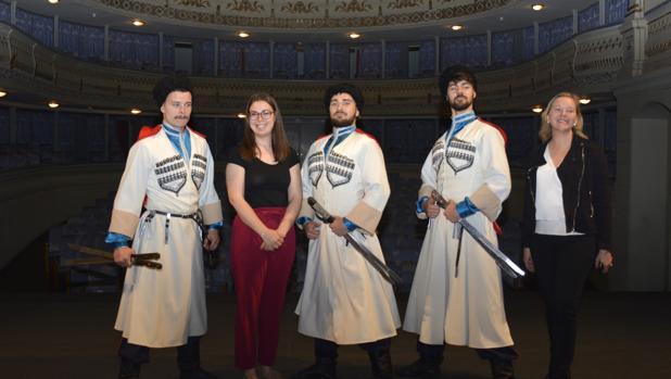 reportaje ABC los cosacos danzan en toledo