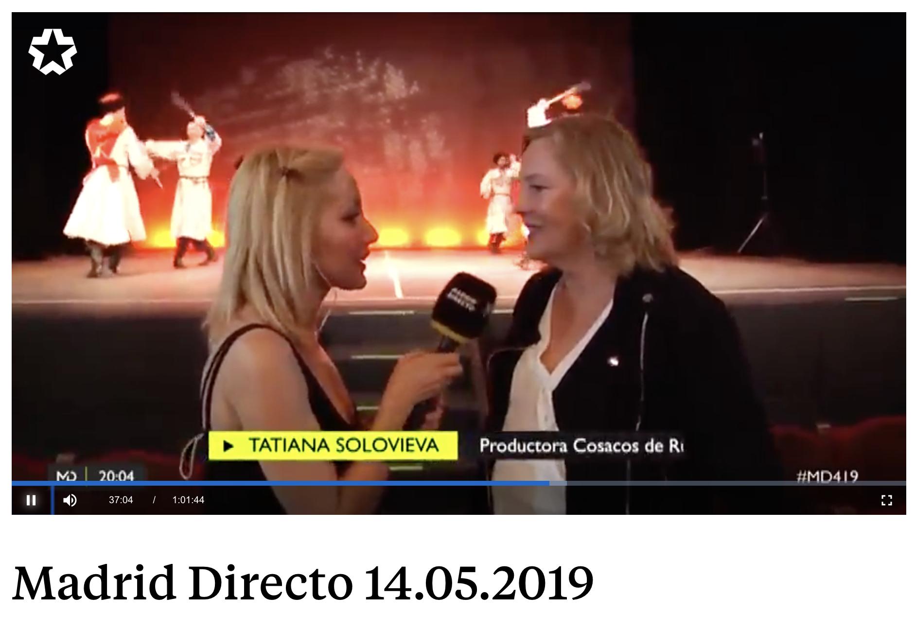 Reportaje Madrid Directo